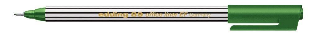 Edding 89 office liner EF grün Faserschreiber 0,3mm Strich