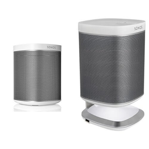 Sonos PLAY:1 WLAN-Speaker + Flexson Ladeständer