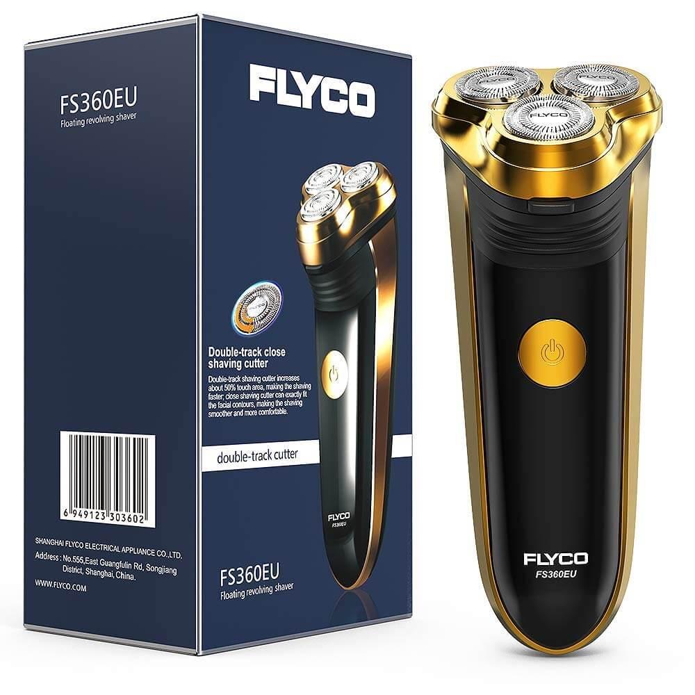 Rasierer FLYCO Elektrorasierer Rasierer Trockenrasierer Pop-up Trimmer