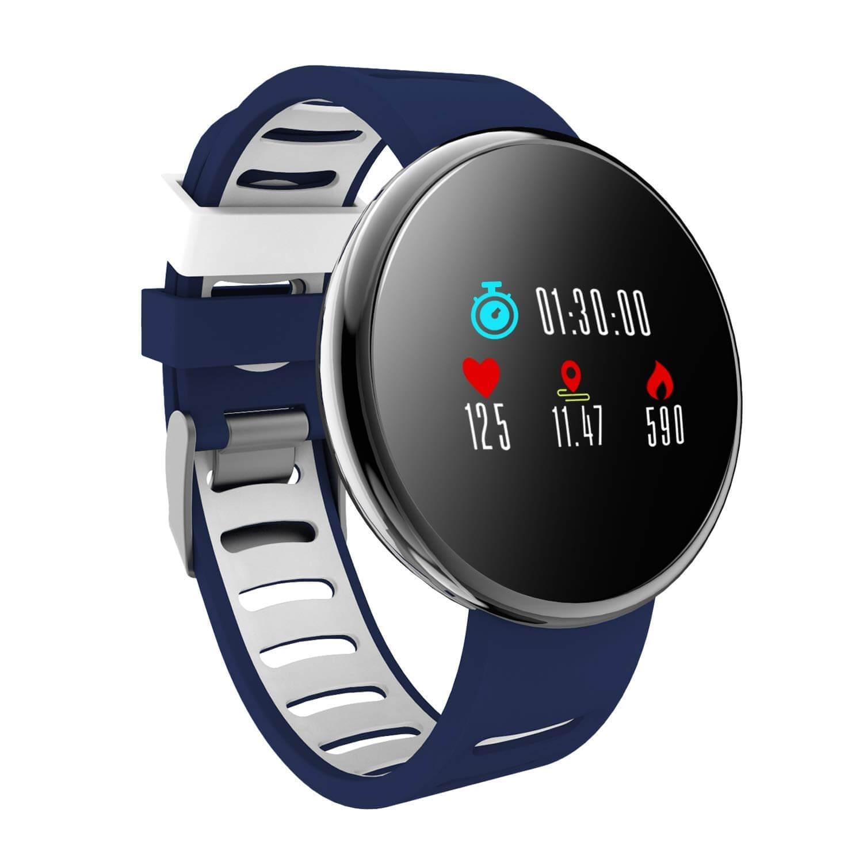 YoYoFit Wasserdicht Fitness Armband mit Pulsmesser Blutdruck