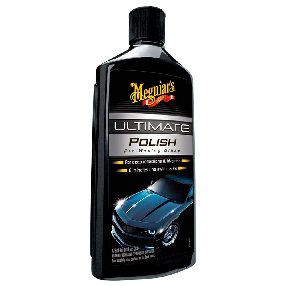 Meguiar's G19216EU Ultimate Polish Hochglanzpolitur 473ml