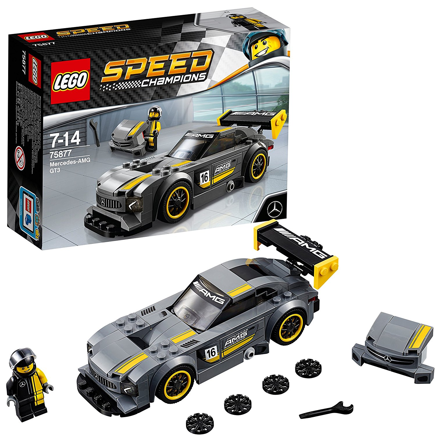 LEGO Speed Champions 75877 – Mercedes-AMG GT3