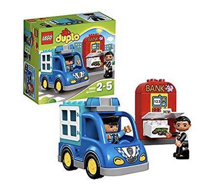 LEGO Duplo 10809 – Polizeistreife, Kleinkinder-Spielzeug, große Bausteine