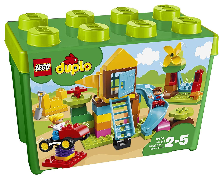 LEGO Duplo 10864 – Steinebox mit großem Spielplatz