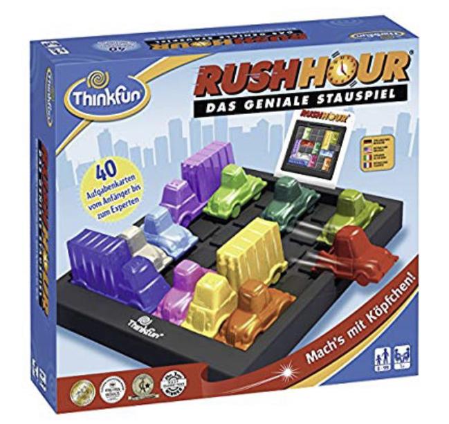 Ravensburger 76301 ThinkFun Rush Hour Spiel-Smart Game
