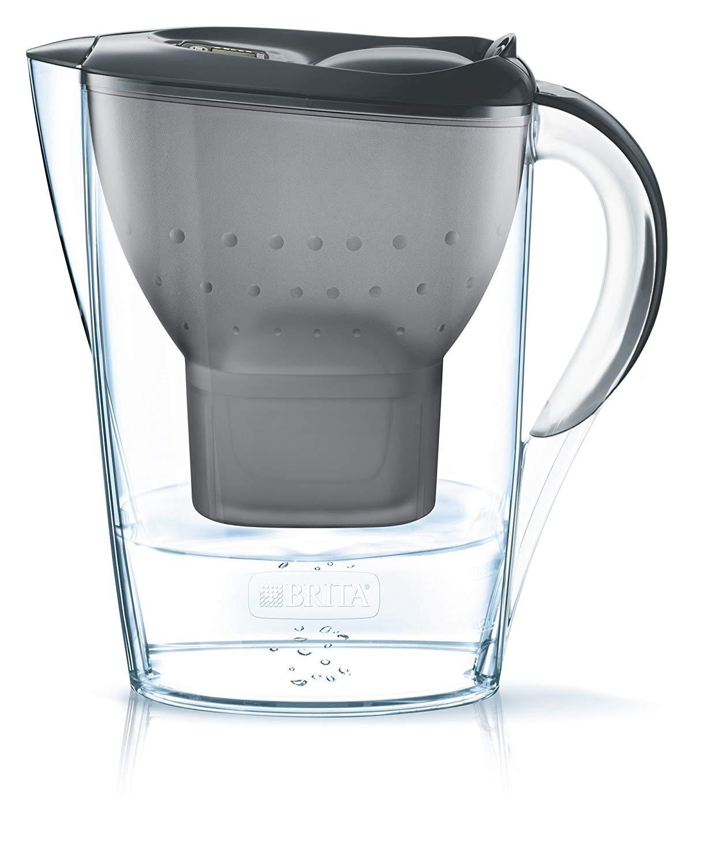 BRITA Wasserfilter Marella graphitgrau