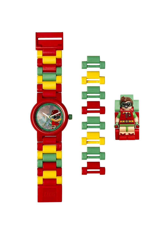LEGO Batman Movie 8020868 Robin Kinder-Armbanduhr mit Minifigur