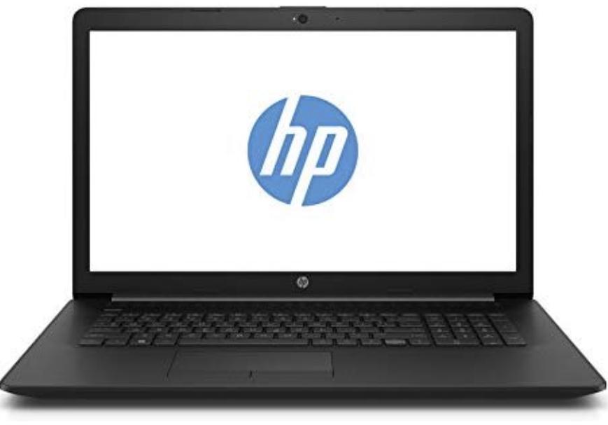 HP 17-by0204ng 43,9 cm (17,3 Zoll HD+) Notebook (Intel Core i3-7020U, 8GB RAM, 1TB HDD + 128GB SSD