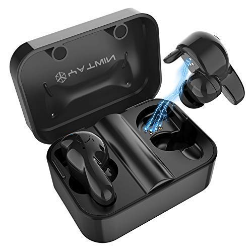 bluetooth kopfh rer in ear v5 0 sport kabellos. Black Bedroom Furniture Sets. Home Design Ideas