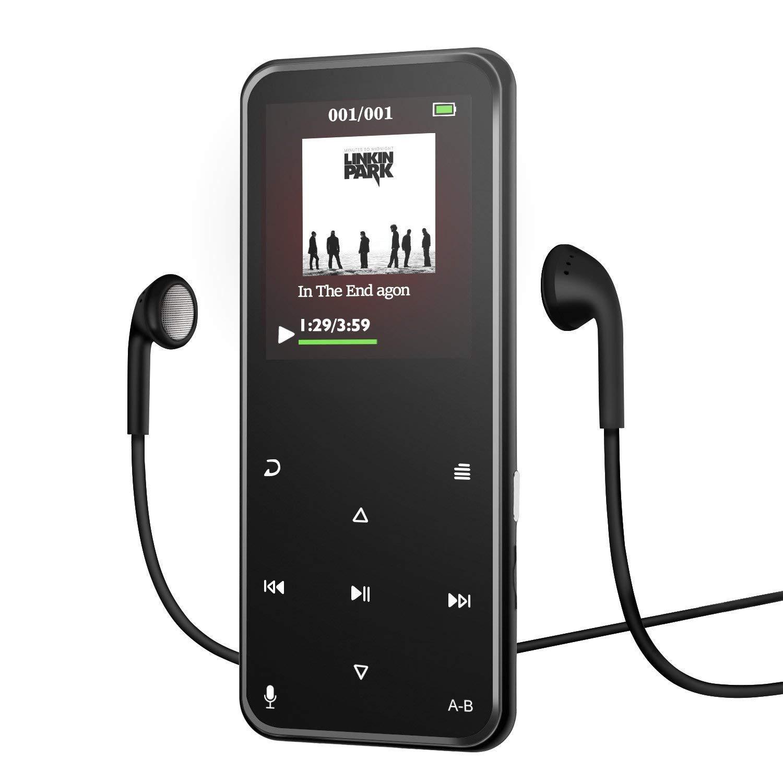 Bluetooth MP3 Player mit Kopfhörern und Display für 19,19€