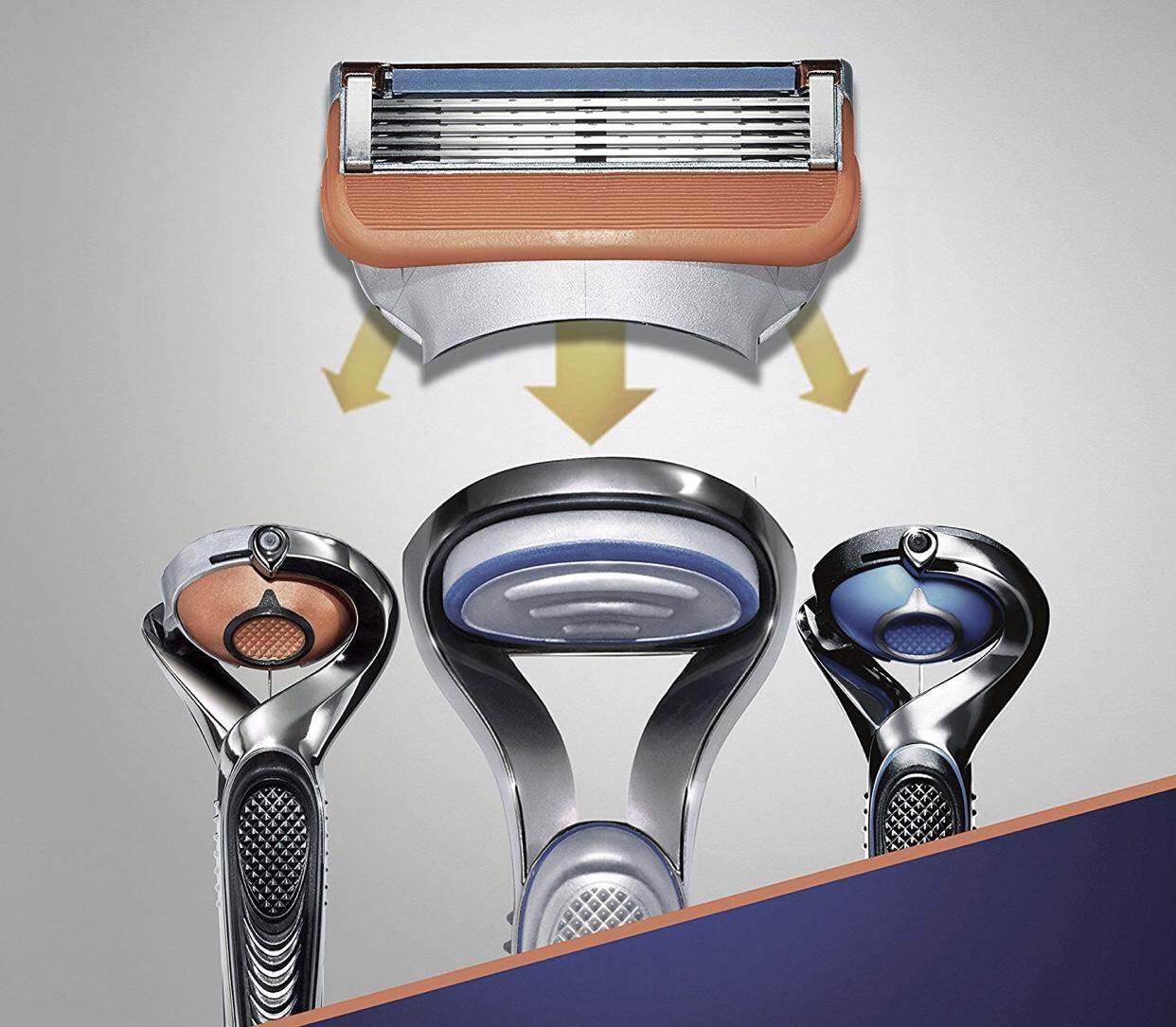 Gillette Fusion5 Rasierklingen (für Männer) 14 Stück