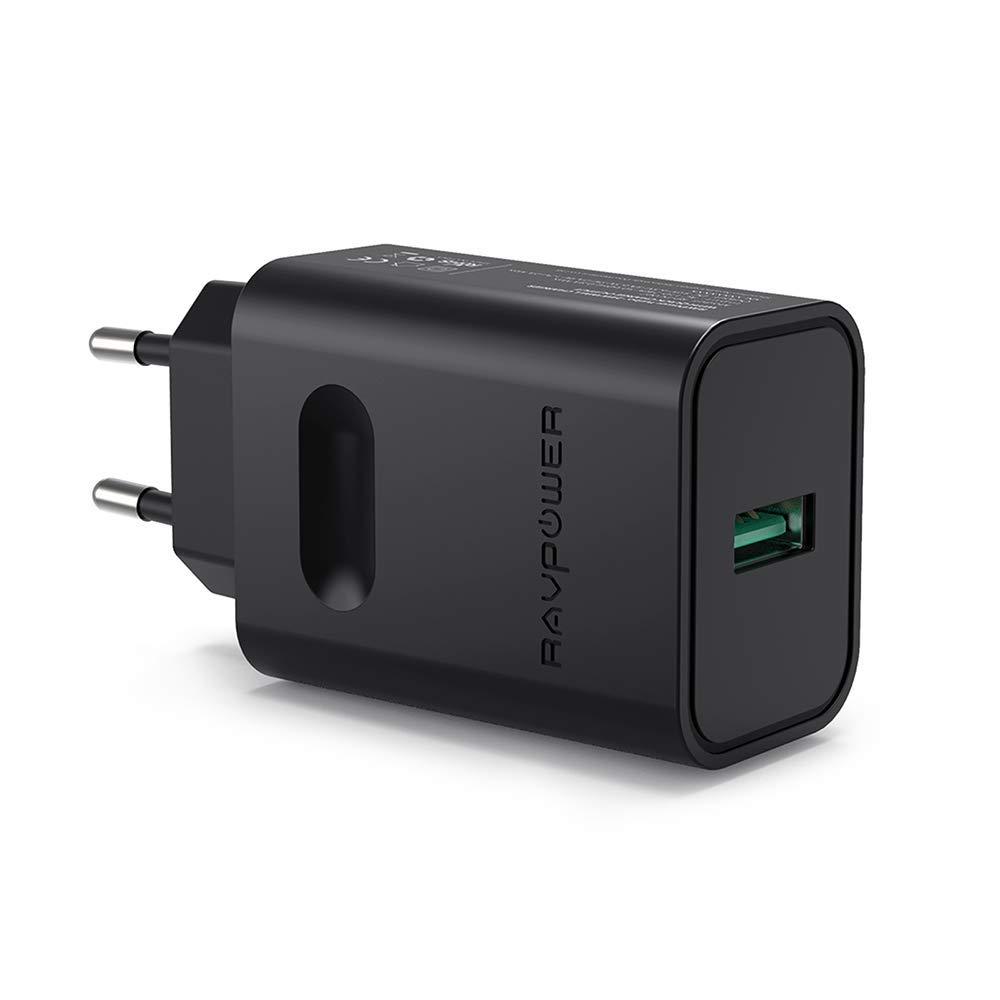RAVPower USB Ladegerät 24W mit Quick Charge 3.0 und iSmart 2.0