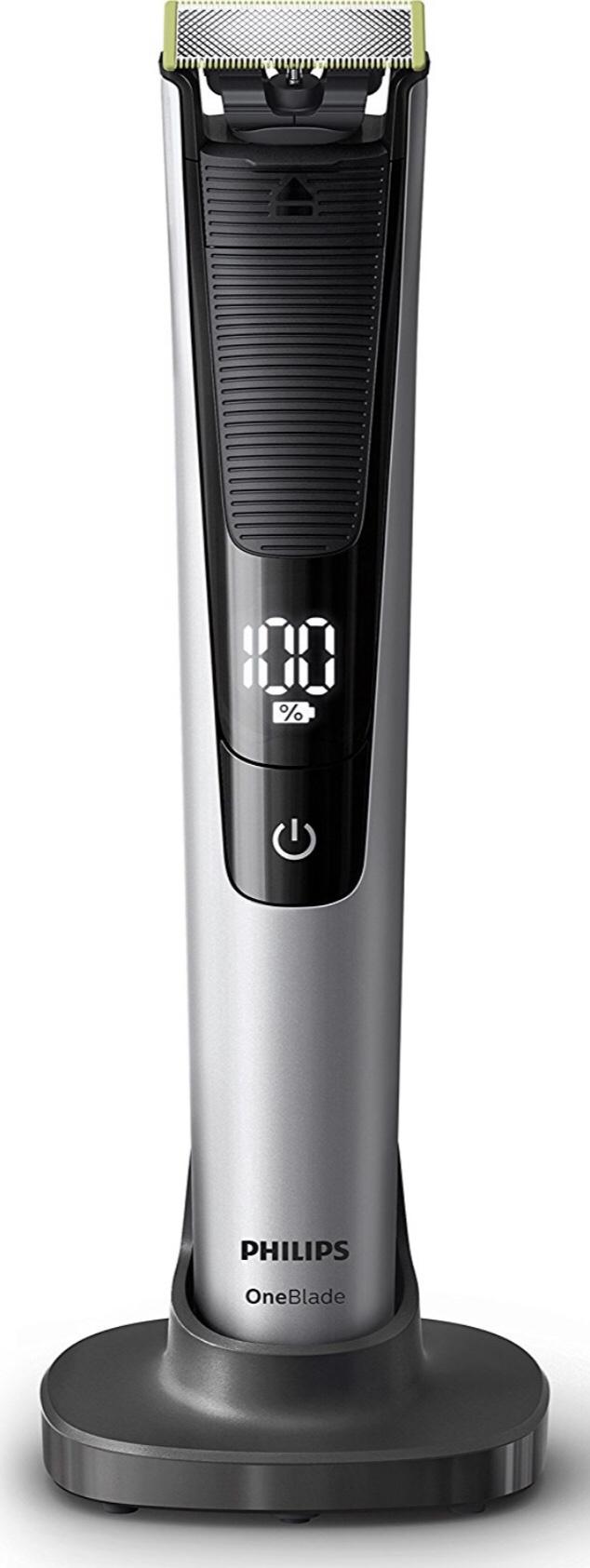 Philips OneBlade Pro Hybrid-Styler QP6520/30, mit 1 Präzisionstrimmer, 14 Längeneinstellungen