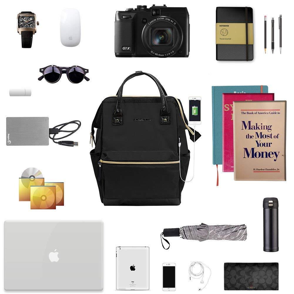 KROSER Laptop Rucksack 15,6 Zoll(39,6cm) Schultasche Daypack für 19,19€