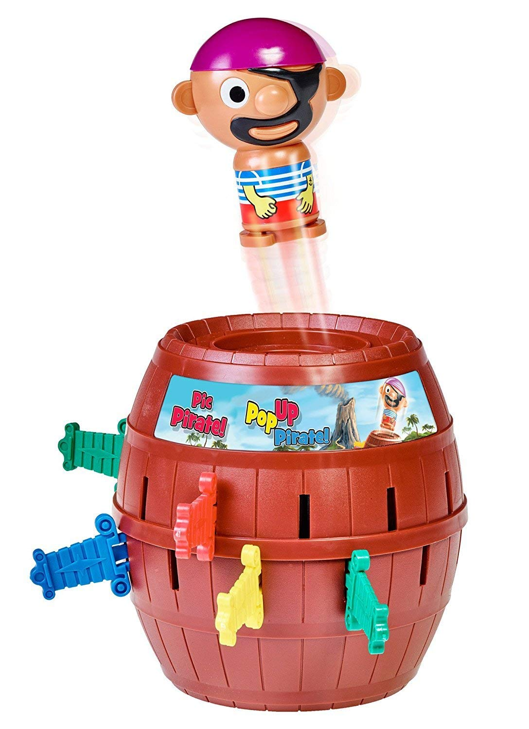 "TOMY Kinderspiel ""Pop Up Pirate"" – hochwertiges Aktionsspiel"