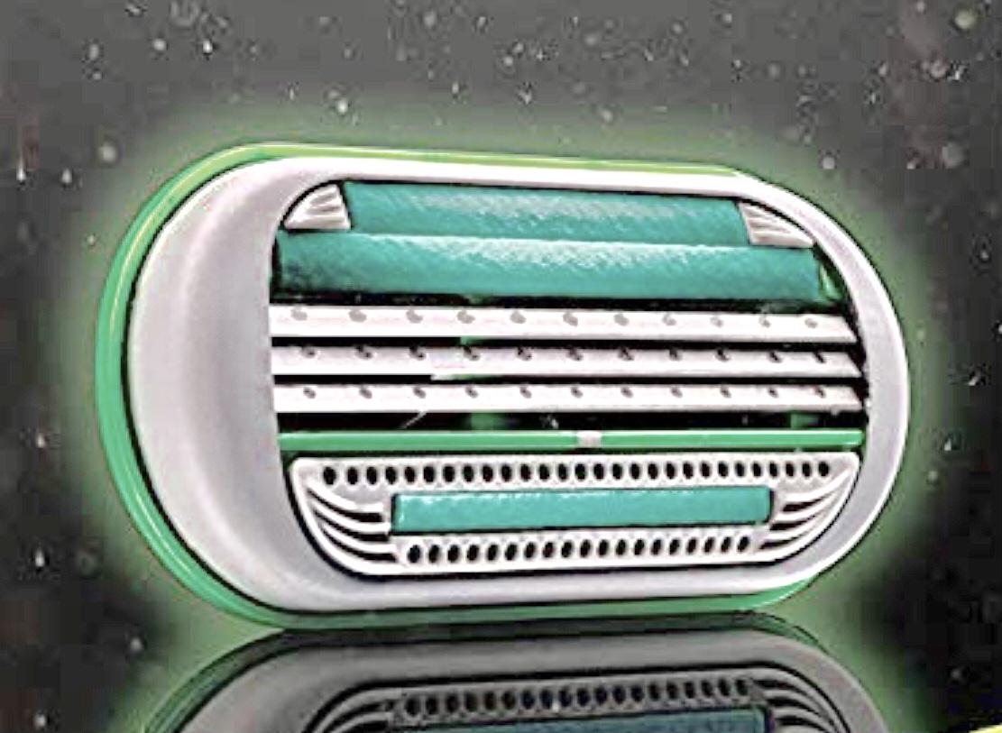 Gillette Body 3 Rasierklingen, 4 Stück