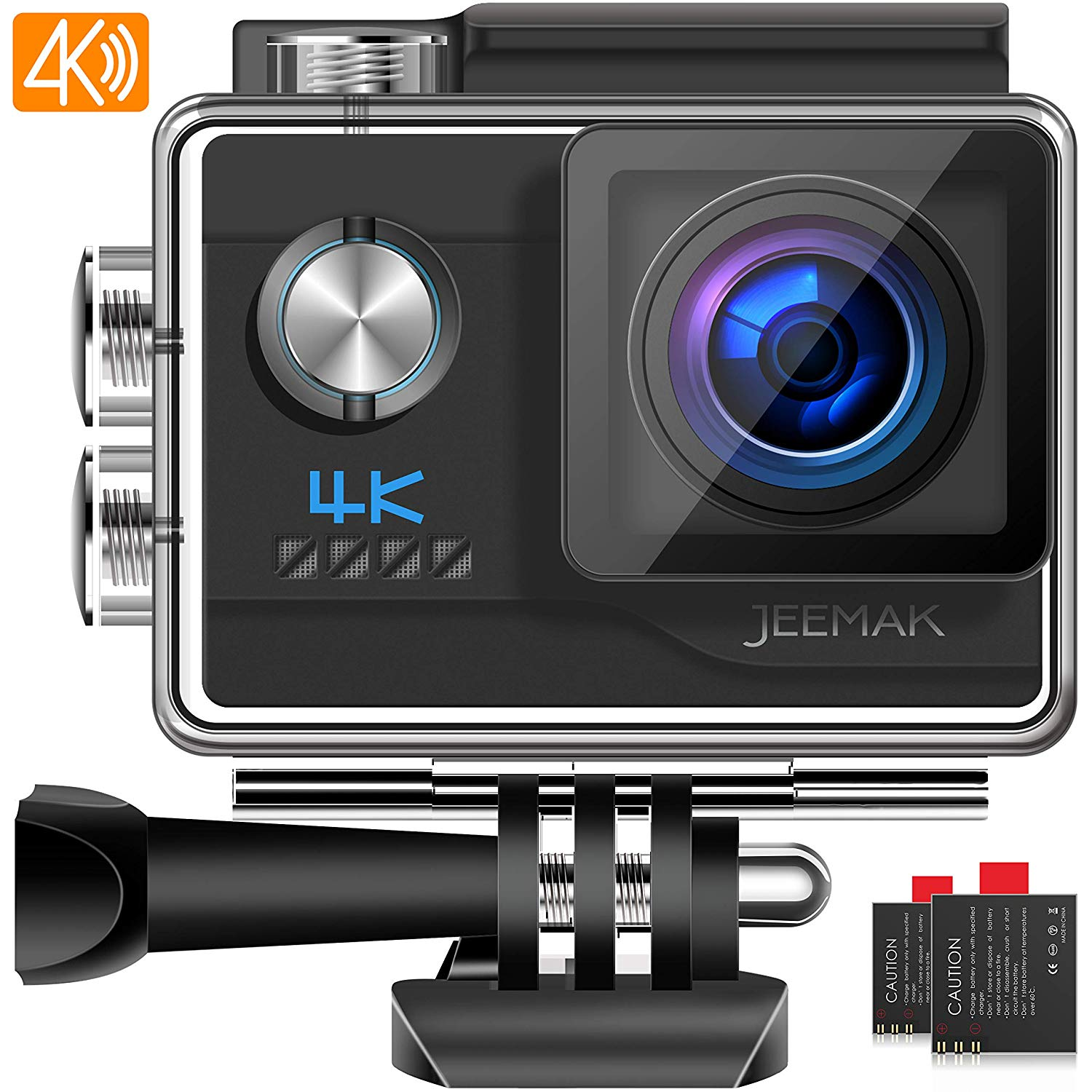 85 99 jeemak action cam 4k uhd 20mp sport kamera wifi. Black Bedroom Furniture Sets. Home Design Ideas