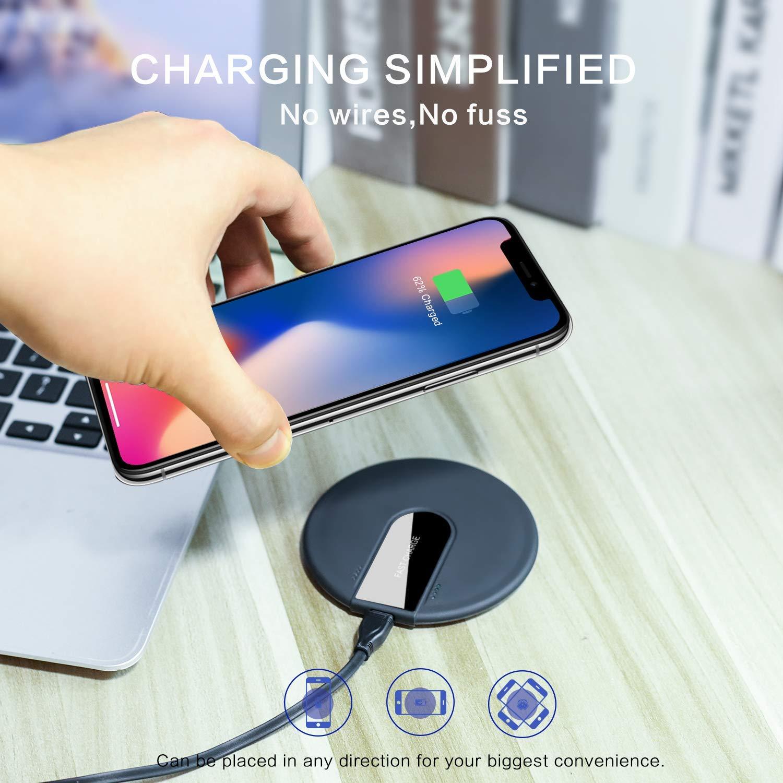 10 79 xltok wireless charger schnelles qi induktions. Black Bedroom Furniture Sets. Home Design Ideas