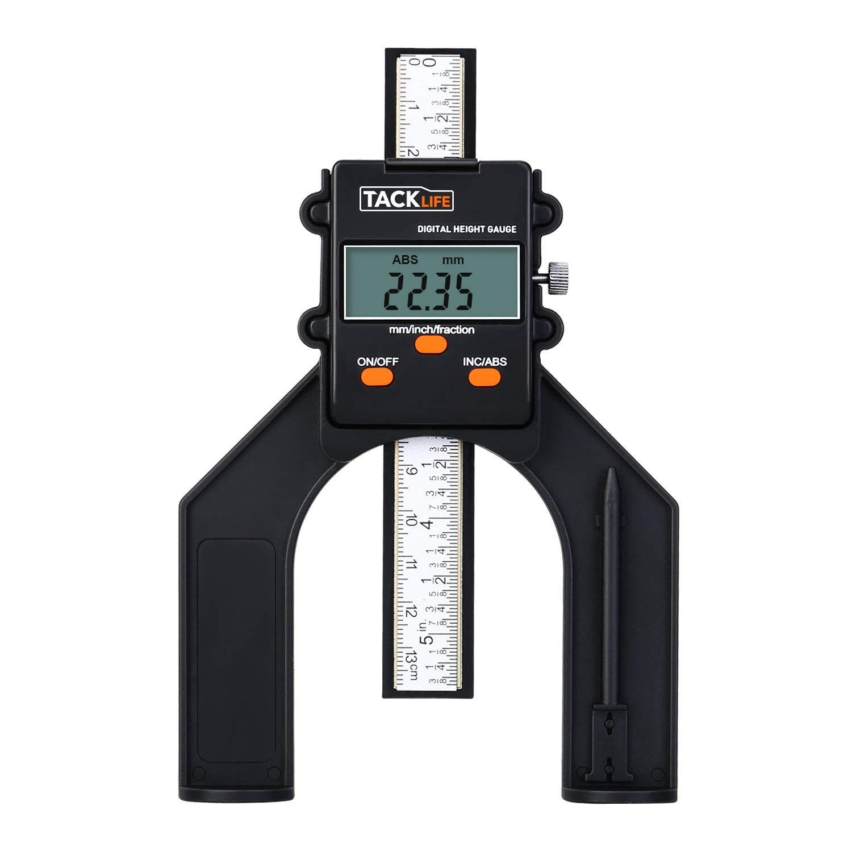 Tiefenmesser, Tacklife MDG01 Digitaler Profiltiefenmesser
