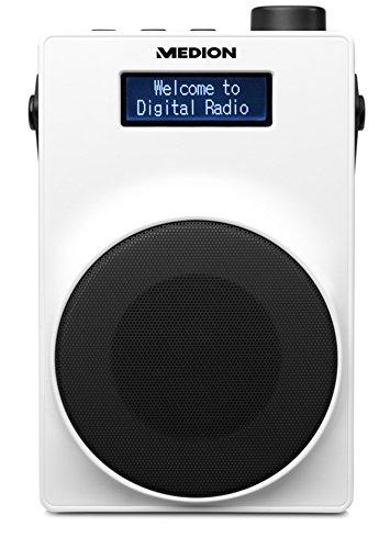 MEDION E66880 DAB+ Radio (PLL UKW, 1,8 Zoll Display)