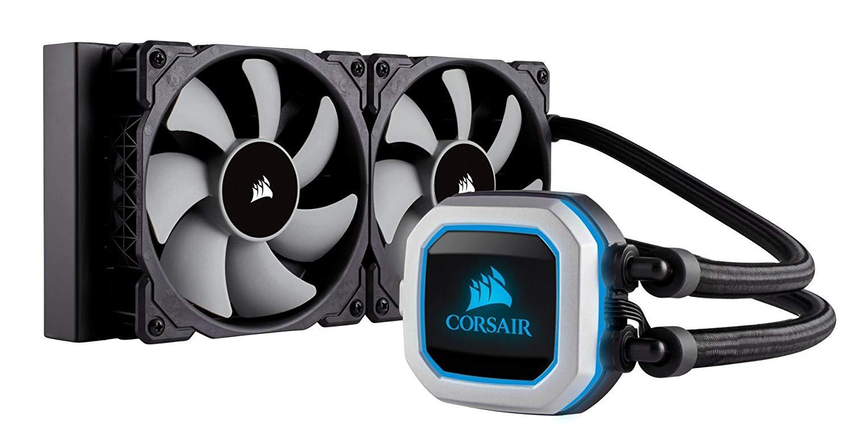 CORSAIR Hydro Series H100i PRO RGB CPU-Flüssigkeitskühlung