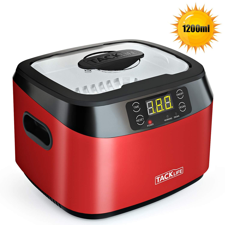 Tacklife MUC01 Ultraschallreiniger Reinigungsgerät 1200ml für 45,99€