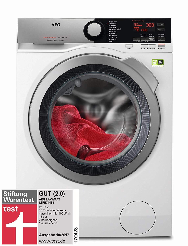 AEG L8FE74485 Waschmaschine Frontlader