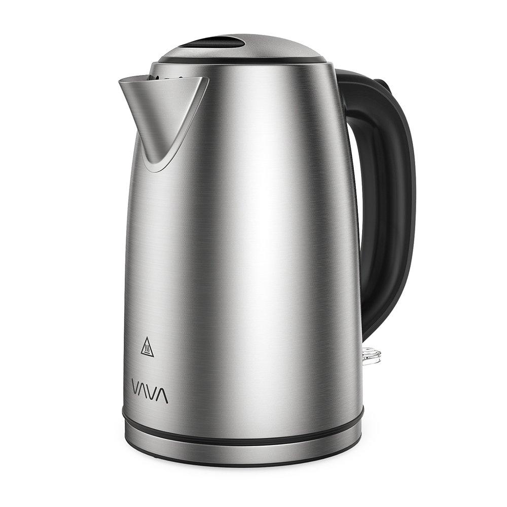 VAVA 1,7 L Wasserkocher aus Edelstahl für 19,99€