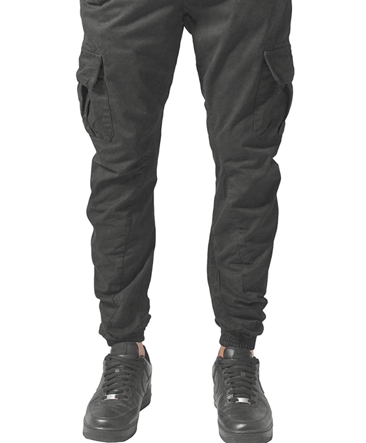 Herren Cargo Hose Jogging Pants mit Seitentaschen