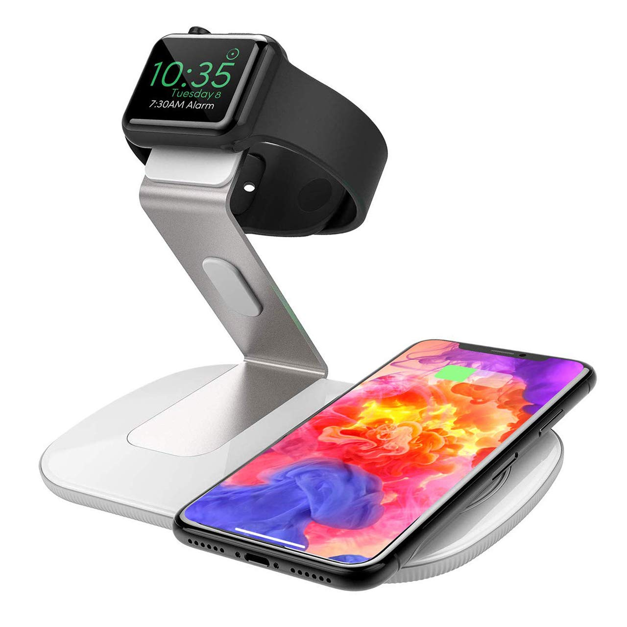 Seneo Fast Wireless Charger, 2 in 1 Wireless Charger für 12,99€