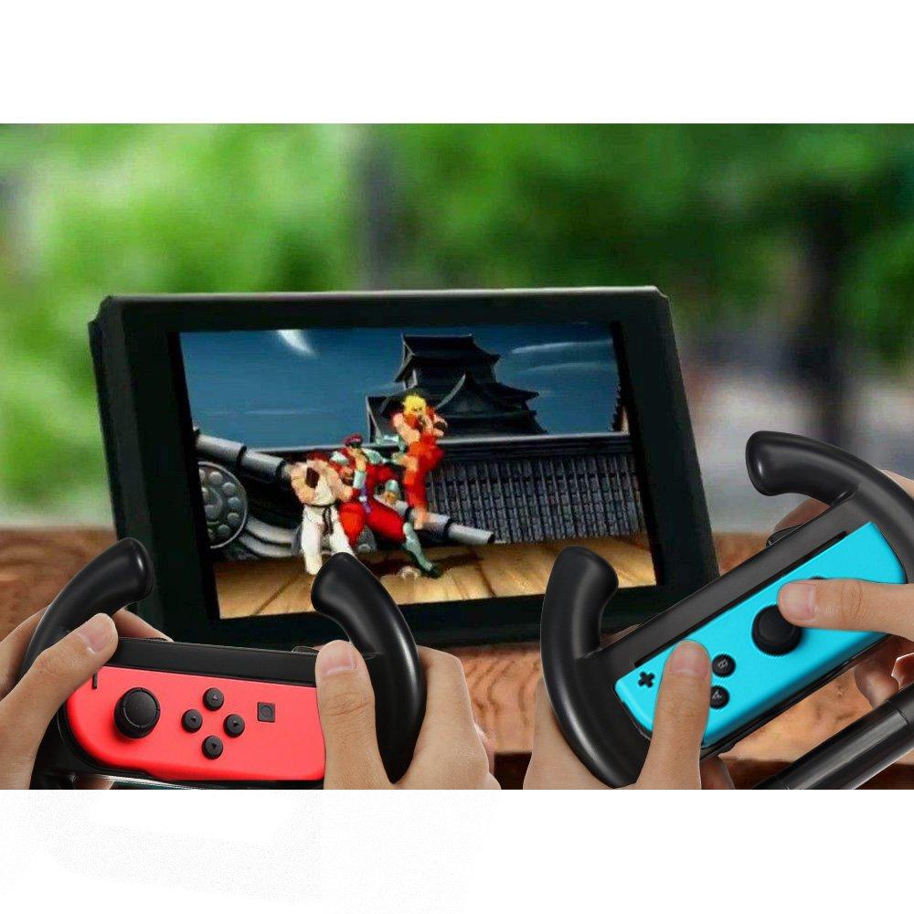 Zacro Nintendo Controller Lenkrad 2 Stück Lenkrad Wheel