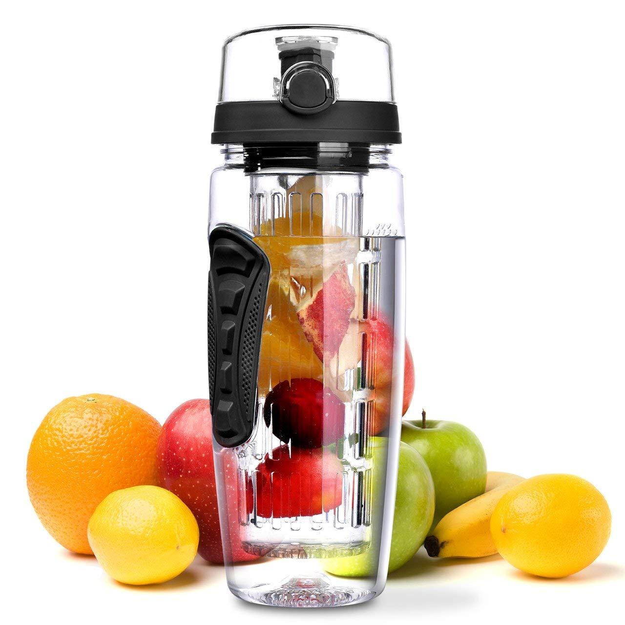 Wasserflasche, [BPA-frei Tritan] Kunststoff Trinkflasche Sport Flasche