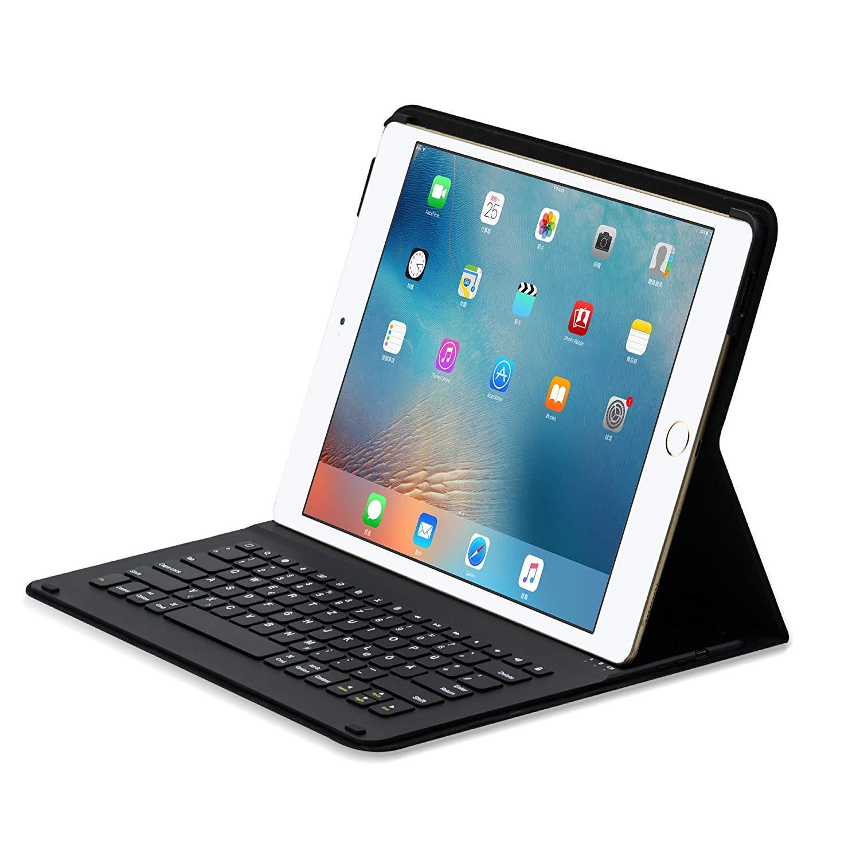 Sharon Apple iPad 12.9 (1st Gen 2015 & 2nd Gen 2017) und iPad Pro 12.9 Schutz Hülle mit Tastatur