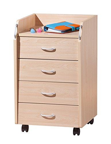 Inter Link Rollcontainer Bürocontainer Rollschrank Schubladenkommode Büroschrank