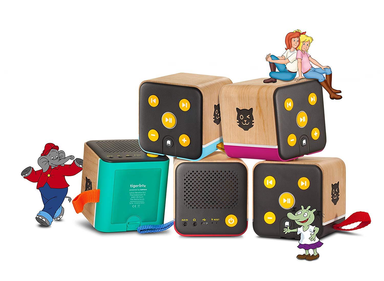 tigerbox – Musik-Mix-Edition: Jetzt ganz neu: Die Hörbox für Kids!