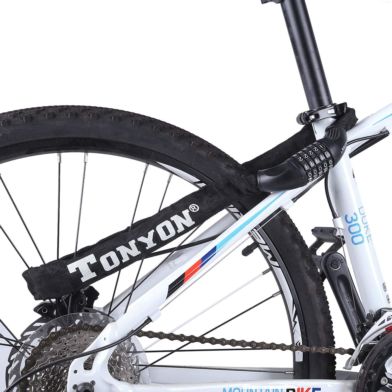 8 99 sinmeng fahrradschloss zahlen bike lock. Black Bedroom Furniture Sets. Home Design Ideas