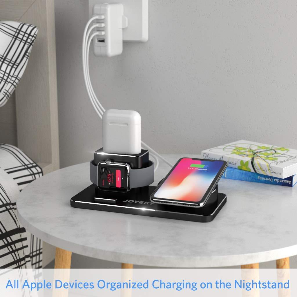 JOYEKY Apple Watch Wireless Charger 10W QI Ladestation