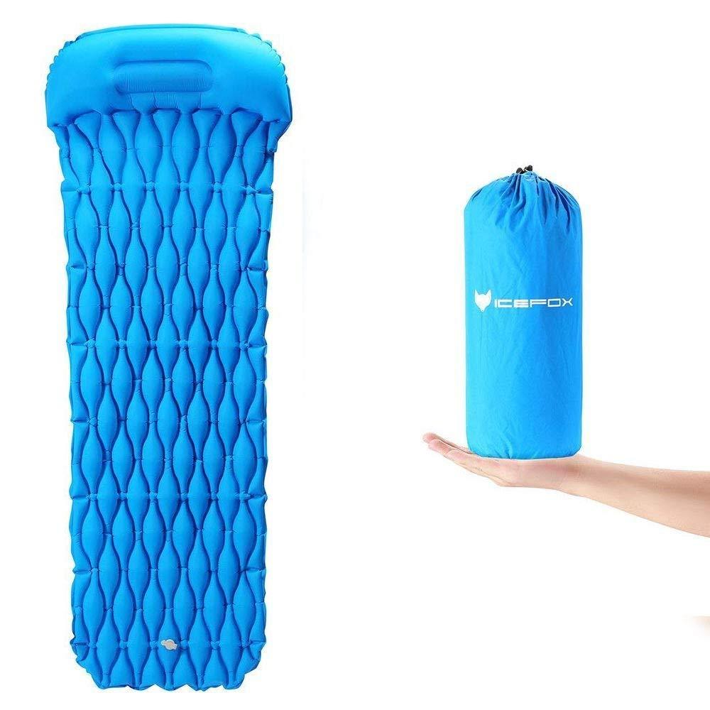 icefox Isomatte, Luftmatratze Camping, Aufblasbare Schlafmatte