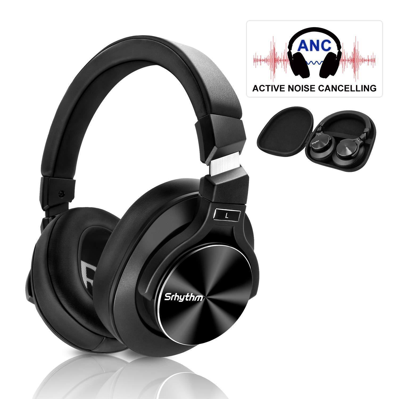 Aktive Noise Cancelling Kopfhörer,Srhythm NC75 Kabelloser Kopfhoerer Bluetooth
