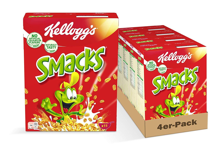 Kellogg Smacks, 4er Pack (4 x 330 g)