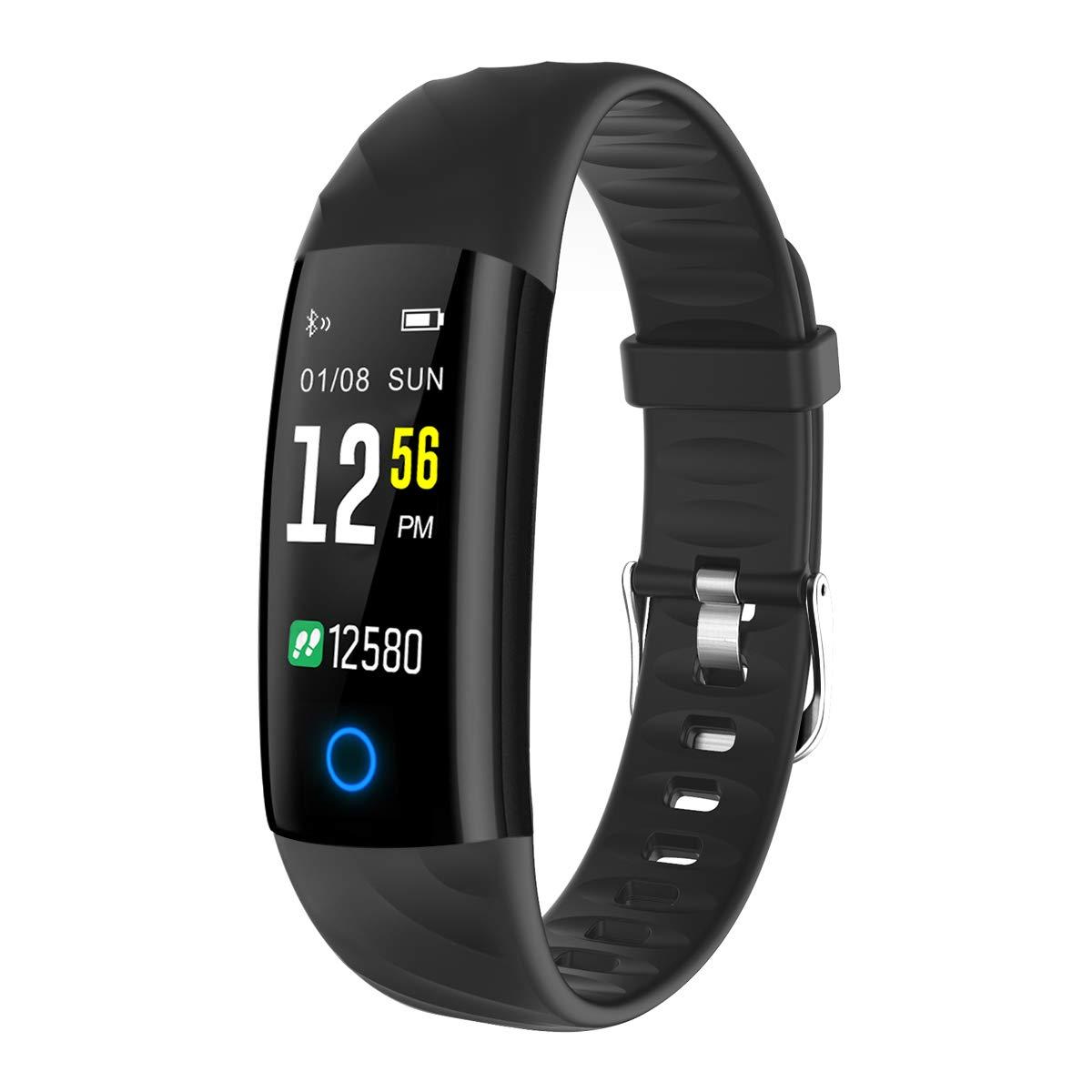 Fitness Tracker, Fitness Armband Sportuhr Fitness Uhr
