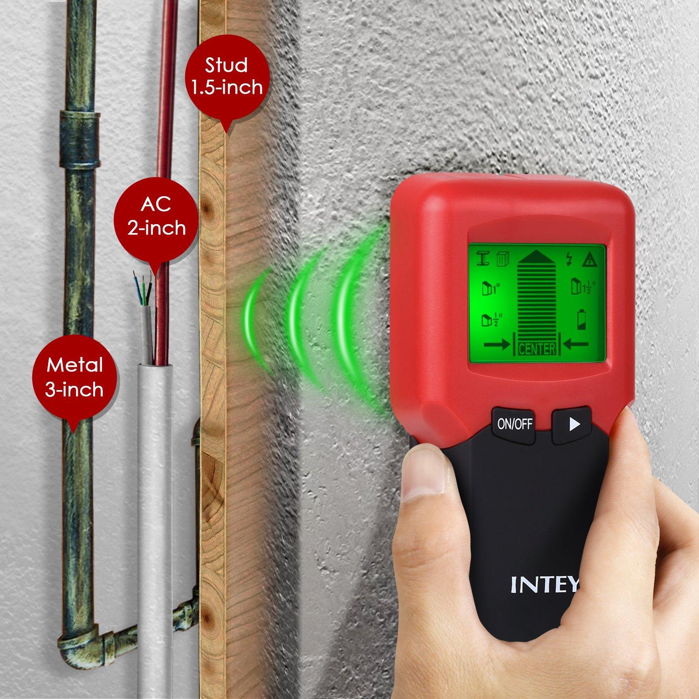 INTEY 3 in 1 Ortungsgerät INTEY Leistungssucher Wand Detektor