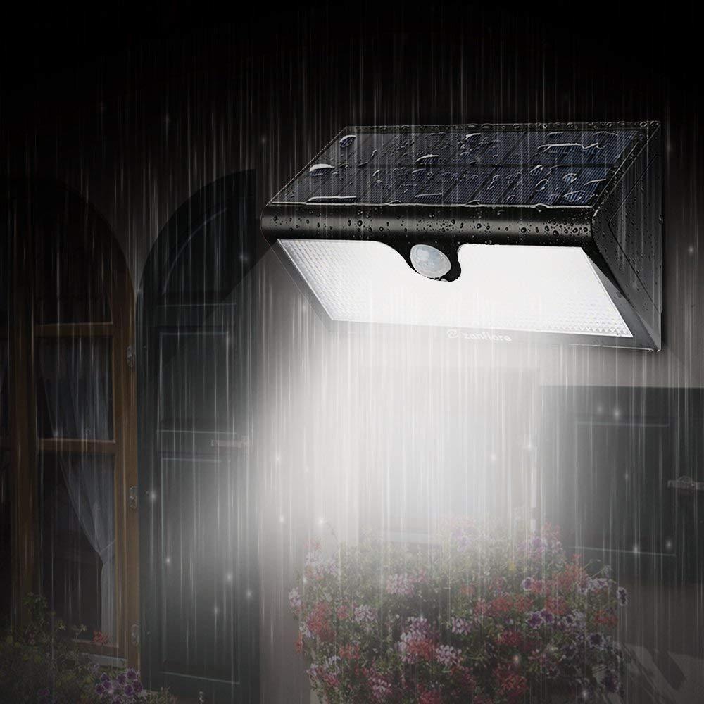 Zanflare 71 LED Solarlampe Superhelle 5200mAh Solarleuchte Garten