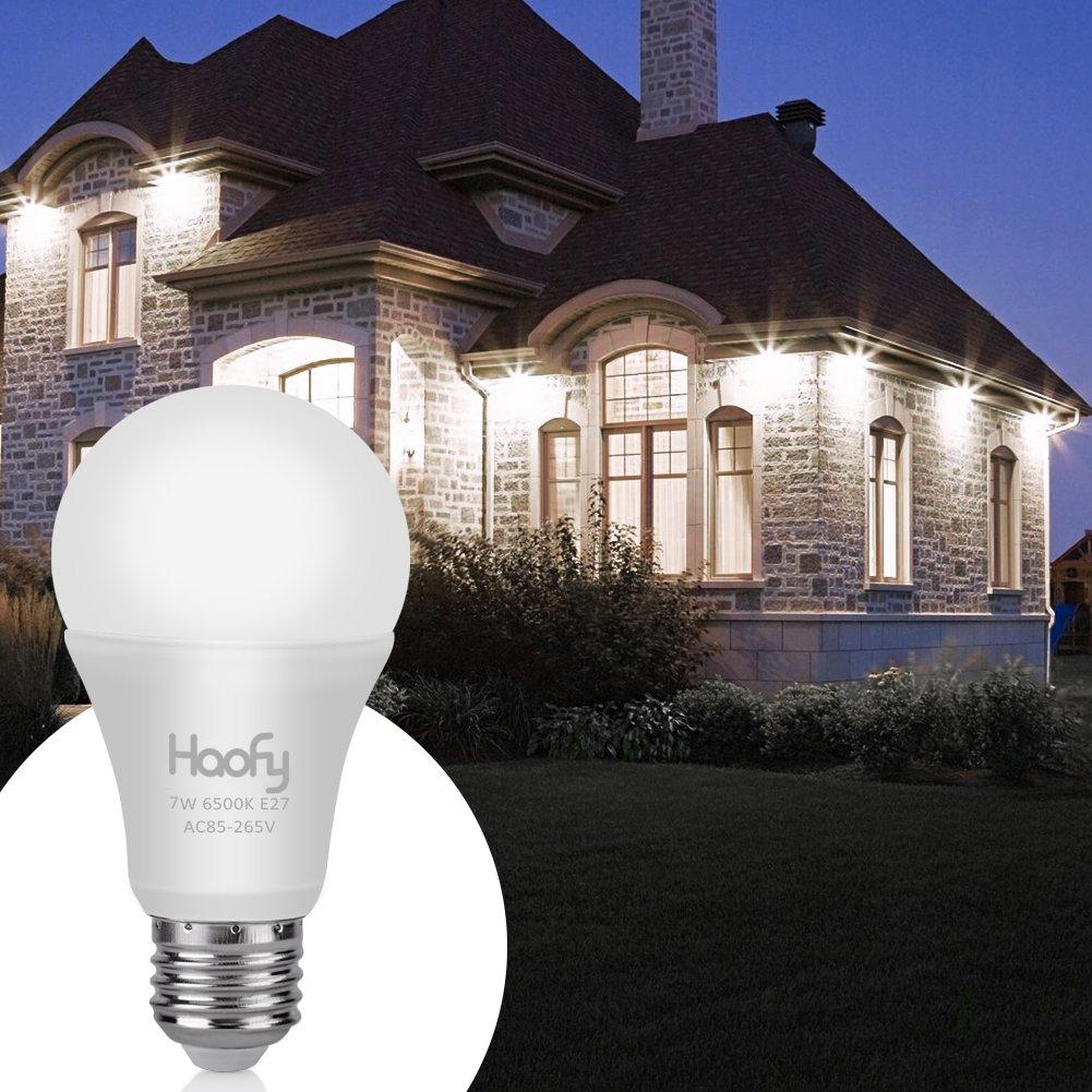 Lichtsensor Lampe, Haofy Smart Glühbirne E27 Sensor Lampe