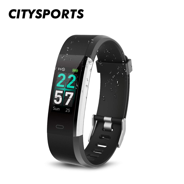 CITYSPORTS Fitness Armband, Smartwatch Waterproof IP68