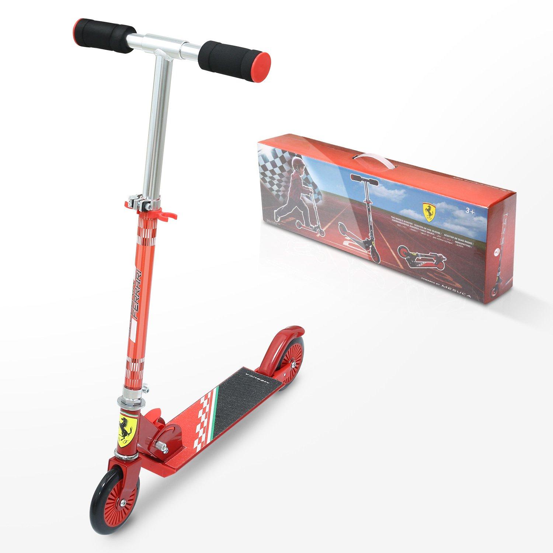 25 ferrari lizenzware kinderroller kid scooter. Black Bedroom Furniture Sets. Home Design Ideas