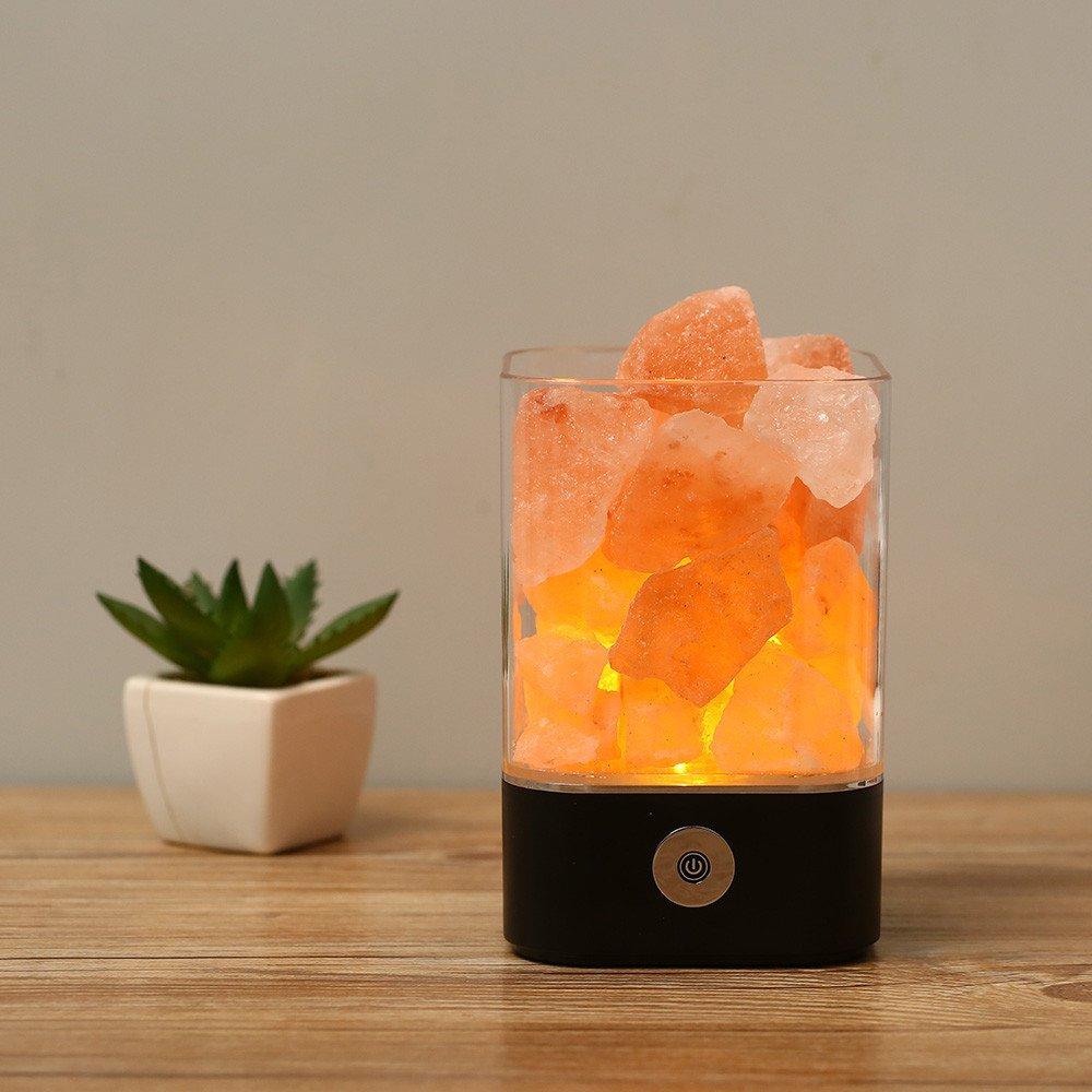 Himalaya Salz Lampe, natürliche rosa Kristallsalz Lampe