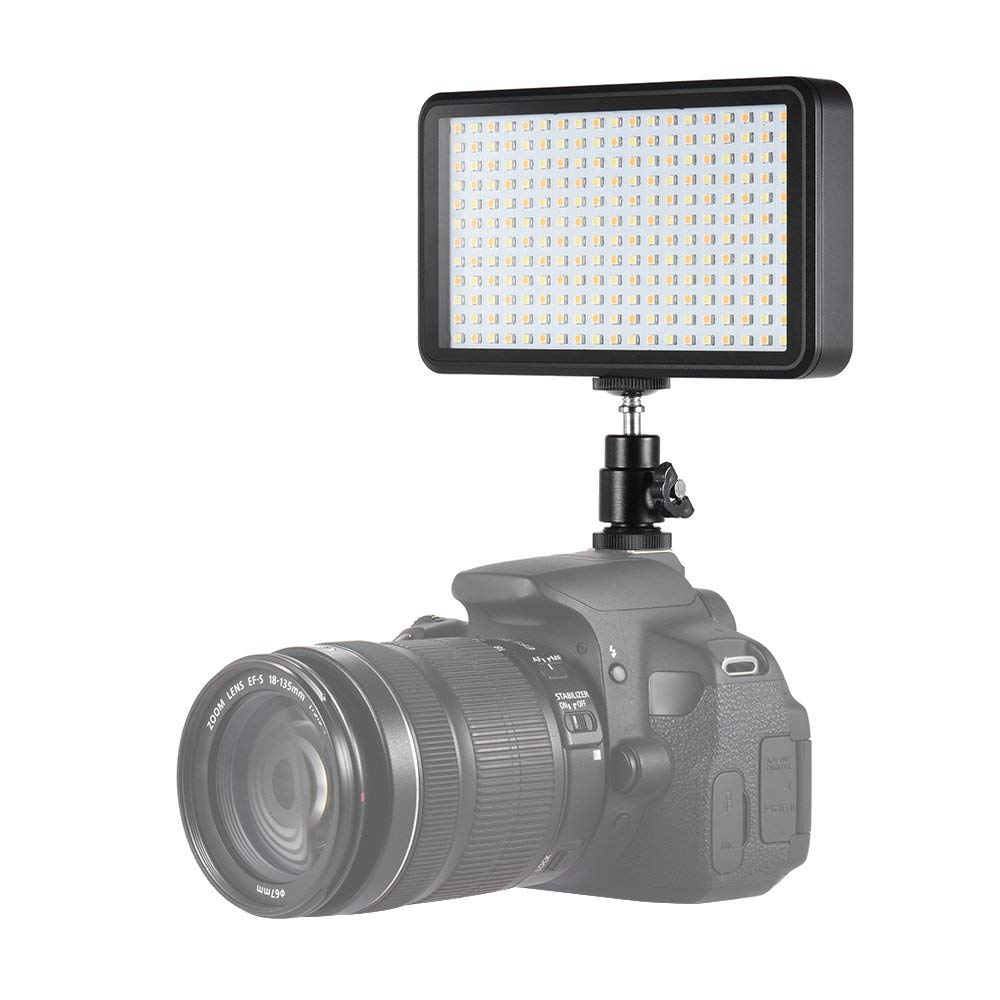 Andoer Perlen Ultra dünne Beleuchtung Studio Video Foto Pad Panel Lampe