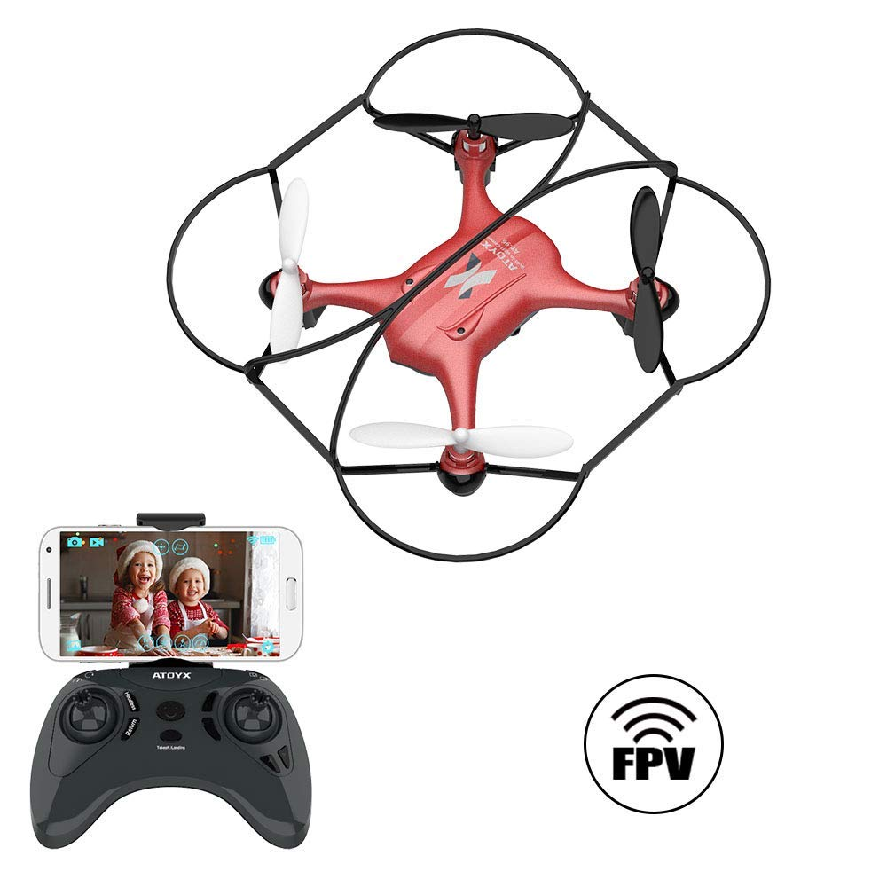 AT-96, FPV Mini Drone with HD Camera ,red