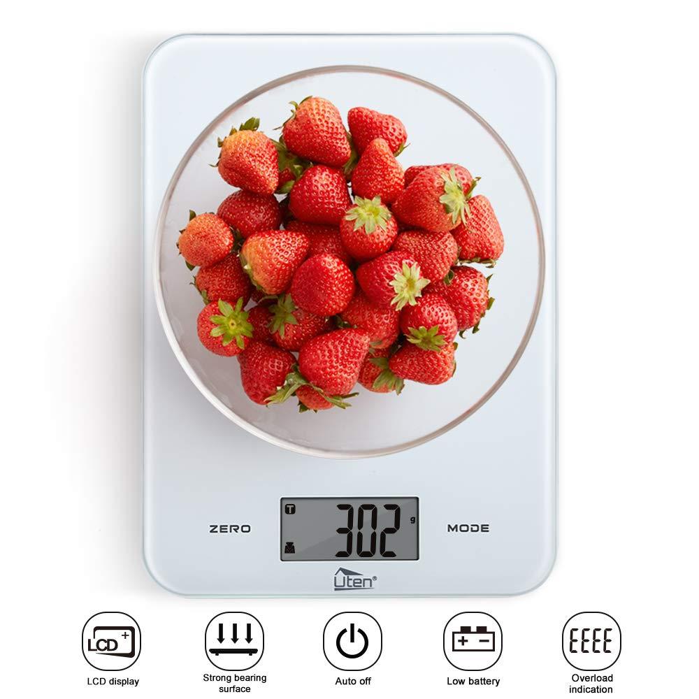 Küchenwaage Digitalwaage 8kg Elektroniche Waage Digitale Küchenwaage Professionale Waage mit LCD-Display